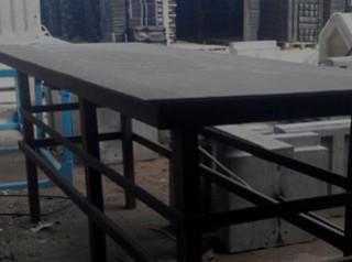 Вибростол и вибросито  для производства  изделий из бетона