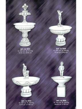 101 фонтаны