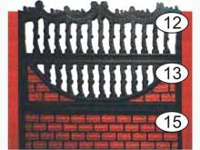 Ограждение бетонное 12-13-15