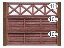 Ограждение бетонное 111-100-100