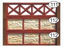 Ограждение бетонное 111-112-112