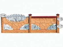Ограждение бетонное 114-115-117
